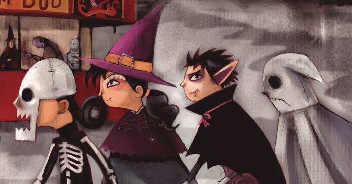 It's Halloween again!