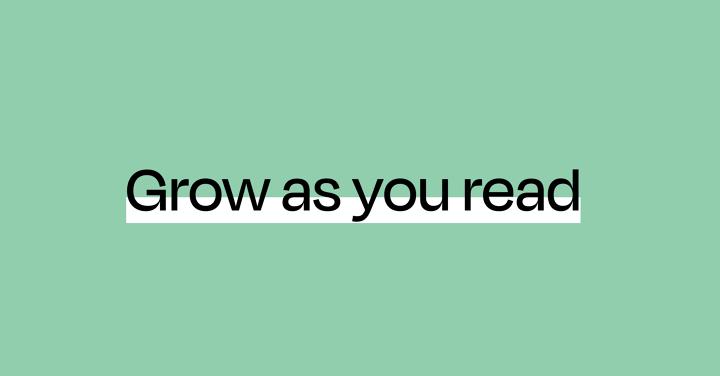 Grow as you read: follow Tom and David!